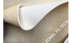ZONEL FILTECH - Aramid / Nomex Needle Felt Filter Cloth for Dust Filter Bags Sewing; Nomex Dust Filter Bags