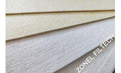 ZONEL FILTECH - Fiberglass Needle Felt for Dust Collector Systems