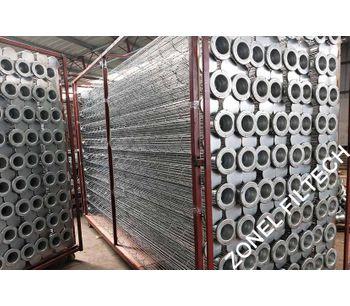 ZONEL FILTECH - Filter Bag Supporting Cages for Pulse Jet Bag Filter Housing