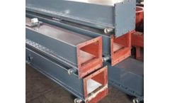 ZONEL FILTECH - Air Slide Chute for Powder Material Conveying System