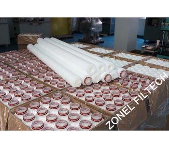 ZONEL FILTECH - Model PP - Melt Blown Filter Cartridge