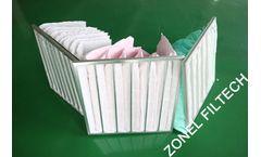 Zonel Filtech - HVAC Pocket Bag Air Filter