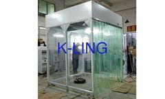 K-Ling - Model KEL-CSA - 0.175 KW Vertical Airflow Booth Steel with Powder Coated Modular Structure