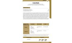 Calmag - Calcium and Magnesium Salts - Datasheet