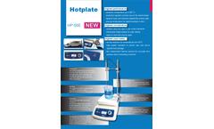 Witeg - Model HP-500 digital up to 500°C - Hotplates Brochure