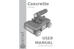 Concretto - Lightweight Portable and Sturdy Wall Penetrating Radar User Manual