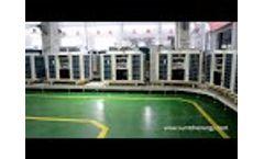 35kW Air Source Heat Pump Video
