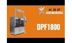 DPF1800 - Diesel Particulate Filter Cleaner Without Hot Air Dryer - Video