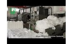 Staple Fiber PP Nonwoven Geotextile Video