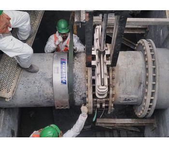 Leak repair   HERMETICA repair clamp - Water and Wastewater - Pipes and Piping-1