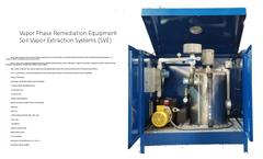 Vapor Phase Remediation EquipmentSoil Vapor Extraction Systems (SVE) - Brochure