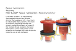 Passive Hydrocarbon Recovery Filter Bucket Passive Hydrocarbon   Recovery Skimmer - Brochure