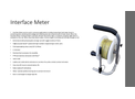 Interface Meter - Brochure