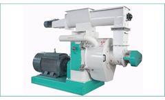Azeus - Model MKLH420 - Ring Die Wood Pellet Machine