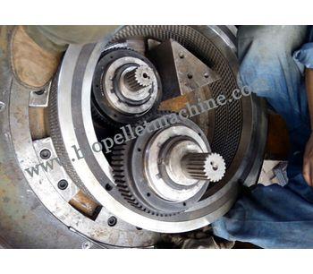 Vertical Ring Die Wood Pellet Machine-1