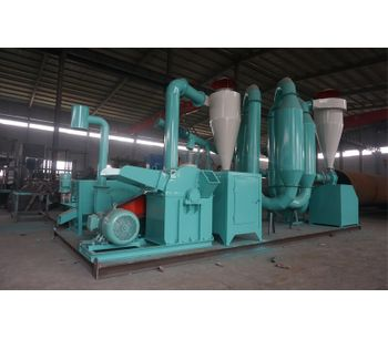Azeus - 500kg/h Biopellet Plant