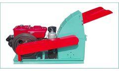 Azeus - Model CF500A - Diesel-driven Wood Hammer Mill