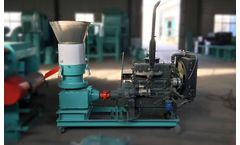 Azeus - Diesel Livestock Feed Pellet Mill