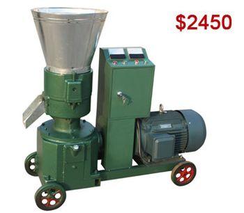 Azeus - Model AZSPLM260 - Rice Husk Pellet Mill