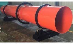 Azeus - Model AUS - Rotary Drum Sawdust Dryer