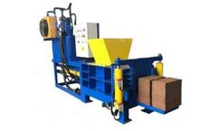 Azeus - Model HBA-SB - Hydraulic Briquetting Press