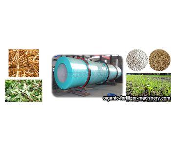 High Capacity Organic Fertilizer Drum Granulator Manufacturing Process