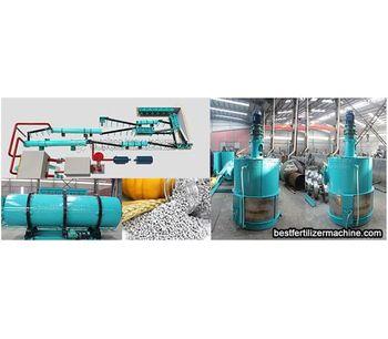 Compound fertilizer production line process