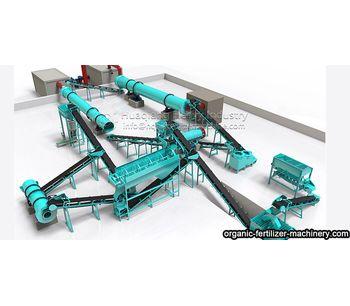 3-5 t/h Bio-organic Fertilizer Projects and machinery