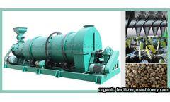 Production method of multifunctional and efficient NPK compound fertilizer granulator
