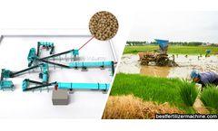 Organic fertilizer production line shouldering the agriculture development