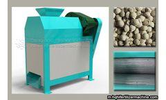 Organic fertilizer machine with the agricultural development
