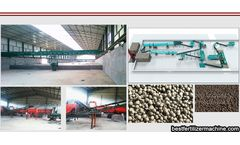 Differences between organic fertilizer equipment and inorganic fertilizer equipment