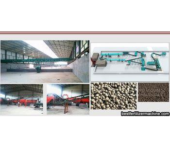 Differences between organic fertilizer equipment and inorganic fertilizer equipment