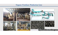 Organic fertilizer manufacturing process solve the problem of manure treatment
