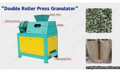 How to use the roller press granulator?