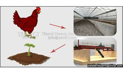 Advantages of compost turning and fermentation of chicken manure