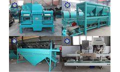 NPK compound fertilizer production line process