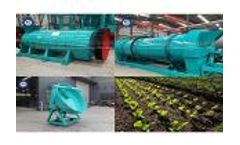 The promotion of organic fertilizer granulator to my China's agriculture
