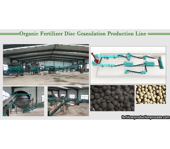 What equipment is needed to produce organic fertilizer?