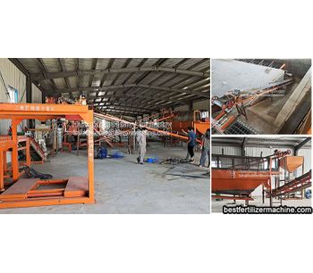 Application of poultry manure organic fertilizer production line in Xinjiang