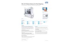 REDWAG - Model RB 2.4Y.F - Filter Weighing Robot - Brochure