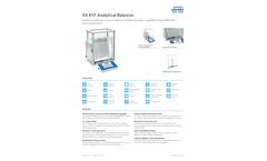 RADWAG - Model XA 110.4Y.F - Analytical Balance - Brochure