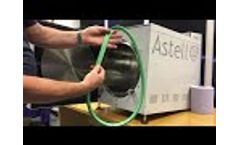 How to change the door gasket on an Astell round chamber autoclave Video