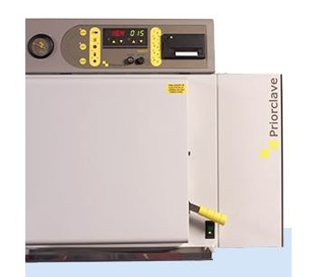 Priorclave - Model 40 - Compact Vacuum Benchtop Autoclaves