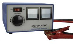 Compliance - Model GFM-200A-DM 120V - Ground Continuity Tester, 3-200A Output With Digital Meters