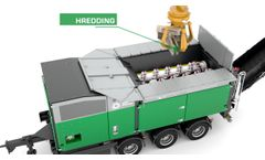 Komptech Crambo: Dual Shaft Shredder for Wood and Green Waste Video