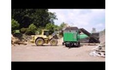 Waste Wood Treatment With Komptech Crambo and Multistar One Video