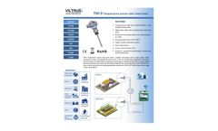 Viltrus - Model TM-3 - Temperature Sensors Brochure