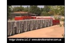 LLC Volga Ukraina - Production of Hooklift Containers, Skip Containers, Platforms and Waste Bins Video