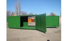 Volga - Model D3E (DEEE), DMS / DDM - Closed Hooklift Container